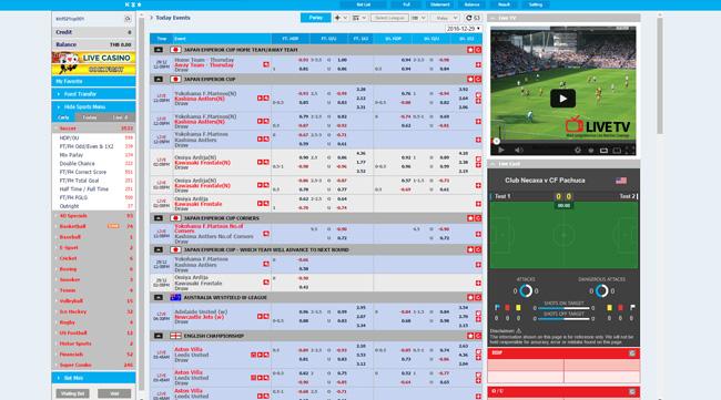 m8bet football betting